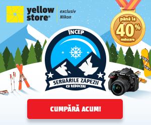 Campanie de reduceri Au inceput Serbarile zapezii cu reduceri Nikon