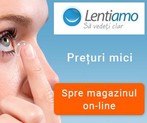 Campanie de reduceri Lentiamo.ro - main campaign