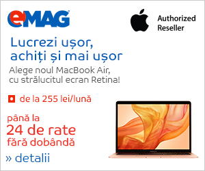 Campanie de reduceri Laptopuri MacBook air in rate, 28.01- 03.02.2019