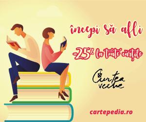 Campanie de reduceri 25% reducere la editura Curtea Veche, pe Cartepedia
