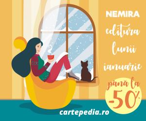 Campanie de reduceri Nemira - editura lunii ianuarie pe Cartepedia