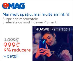 Campanie de reduceri Campanie Huawei P Smart