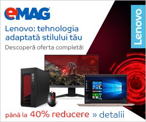 Campanie de reduceri Lenovo all brand, 21- 27.01.2019