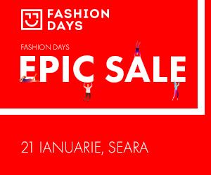 Campanie de reduceri Epic Sale - reduceri de pana la 80% (teasing)