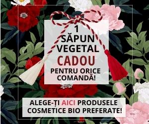 Campanie de reduceri De Mărțișor, 1 Săpun Cadou pentru ORICE COMANDĂ!