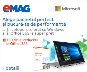 Campanie de reduceri Bundle Office 365 Personal + laptop, 25.02- 03.03.2019