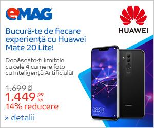 Campanie de reduceri Campanie Huawei Mate 20 Lite