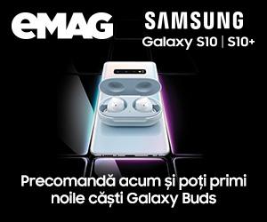 Campanie de reduceri Campanie Precomanda Samsung Galaxy S10
