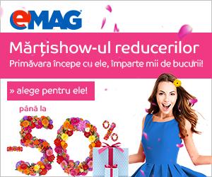 Campanie de reduceri Martishow-ul reducerilor 2019