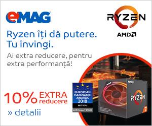 Campanie de reduceri Procesoare AMD- voucher 10% extra reducere, 26- 28.02.2019
