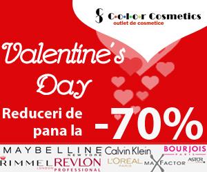 Campanie de reduceri Te rasfatam de Valentine's Day!