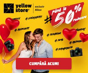 Campanie de reduceri Luna Iubirii la Yellow Store