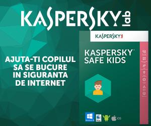 Campanie de reduceri Kaspersky Safe Kids