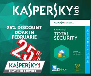 Campanie de reduceri 25% DISCOUNT IN FEBRUARIE - KTS