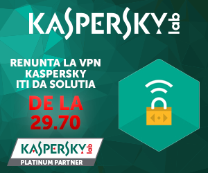 Campanie de reduceri RENUNTA LA VPN KASPERSKY ITI DA SOLUTIA