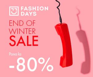 Campanie de reduceri End Of Winter Sale - reduceri de pana la 80% (reveal)