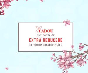 Campanie de reduceri 3 cupoane de REDUCERE pentru tine!