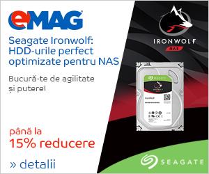 Campanie de reduceri HDDuri Seagate IronWolf, 04- 15.03.2019