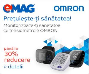 Campanie de reduceri Tensiometre OMRON 30%