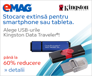 Campanie de reduceri USB Kingston pachet SB, 19- 21.03.2019