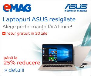 Campanie de reduceri Laptopuri ASUS RSG, 25- 31.03.2019
