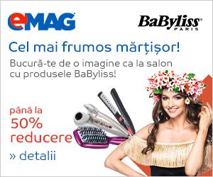 Campanie de reduceri Campanie BaByliss 50% hair styling