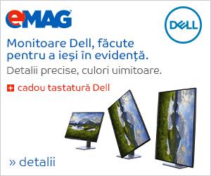 Campanie de reduceri Monitoare Dell + tastatura cadou, 11- 18.03.3019