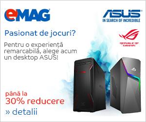 Campanie de reduceri Desktopuri de gaming ASUS, 11- 18.03.2019