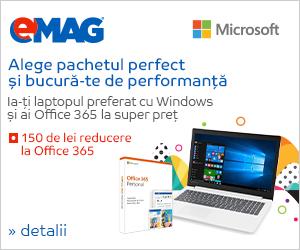 Campanie de reduceri Bundle Office in pachet cu un laptop, 11- 18.03.2019