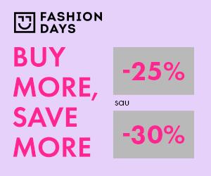Campanie de reduceri Buy More, Save More - reduceri de 25% sau 30%