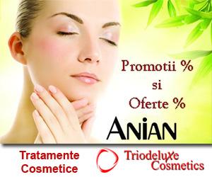 Campanie de reduceri Promotii la cosmetice TrioDeLuxe