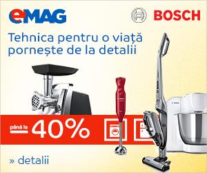 Campanie de reduceri Electrocasnice mici Bosch