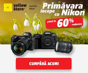 Campanie de reduceri Primavara incepe cu Nikon