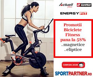 Campanie de reduceri Biciclete fitness promo