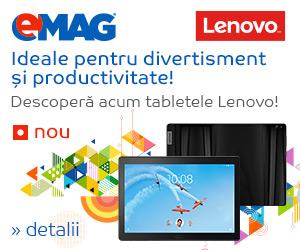 Campanie de reduceri Campanie Lansare TAB4 Lenovo
