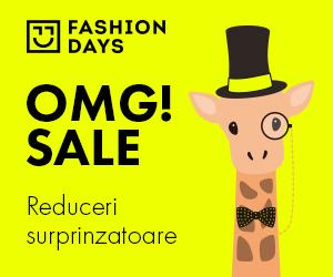 Campanie de reduceri OMG! Sale - reduceri surprinzatoare