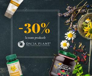 Campanie de reduceri -30% la toate produsele Dacia Plant