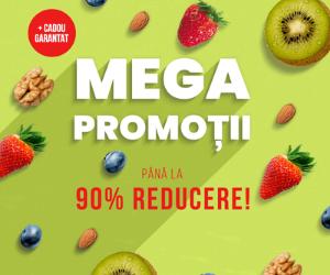 Campanie de reduceri MEGA PROMOTII -90% + CADOU