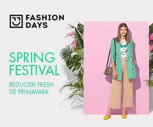 Campanie de reduceri Spring Festival - reduceri fresh de primavara la articolele pentru femei