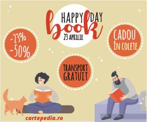 Campanie de reduceri Sărbătorim Ziua Internațională a Cărților cu Transport Gratuit