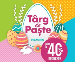 Campanie de reduceri Targul de Paste Nemira