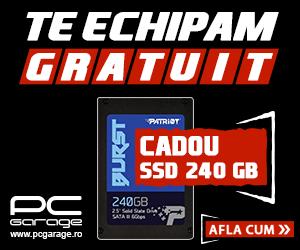 Campanie de reduceri Te echipam gratuit: SSD cadou 2019