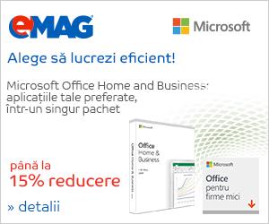 Campanie de reduceri Office Home& Business, 08- 14.04.2019