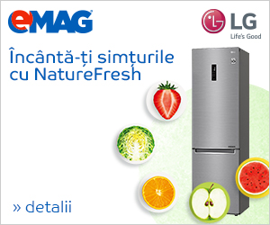 Campanie de reduceri Aparate frigorifice LG Nature Fresh