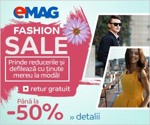 Campanie de reduceri Fashion Sale aprilie 2019
