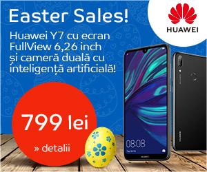 Campanie de reduceri Huawei Y7 Campanie Paste