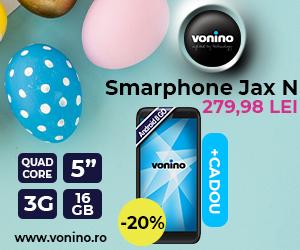 Campanie de reduceri Noul Smartphone Vonino Jax N, cu 20% reducere!