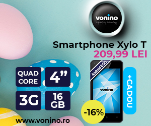 Campanie de reduceri Noul Smartphone Vonino Xylo T, cu 16% reducere!