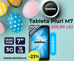 Campanie de reduceri Noua Tableta Vonino Pluri M7, cu 23% reducere!