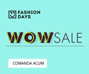 Campanie de reduceri WOW Sale - tinute la preturi uimitoare